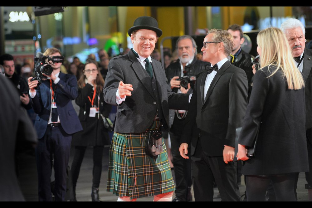 """Check it out. That guy over there is wearing a bowler hat and a kilt…. quite frankly he looks ridiculous!""  - John C. Reilly plays Oliver Hardy in this movie."