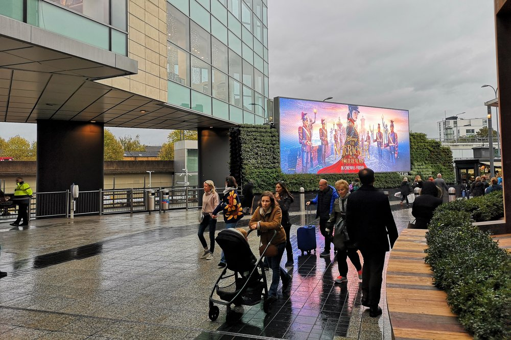 "So I get to Westfield Shepherds Bush and ominously they have a huge adverting screen showing a trailer for the movie, but instead of saying something like ""EUROPEAN PREMIERE HERE TONIGHT"" it just says ""In Cinemas Tomorrow"""