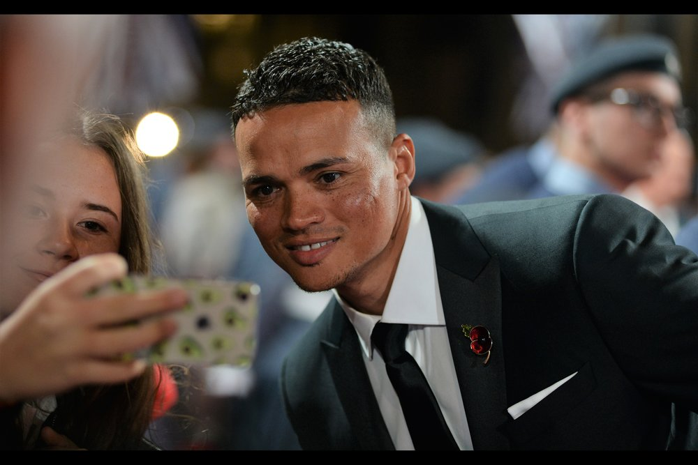 """So… these photos of me. What are they doing on your phone, may I ask?"".  This, wireimage.com reassures me, is Jermaine Jenas. All other information about him is not provided by them."