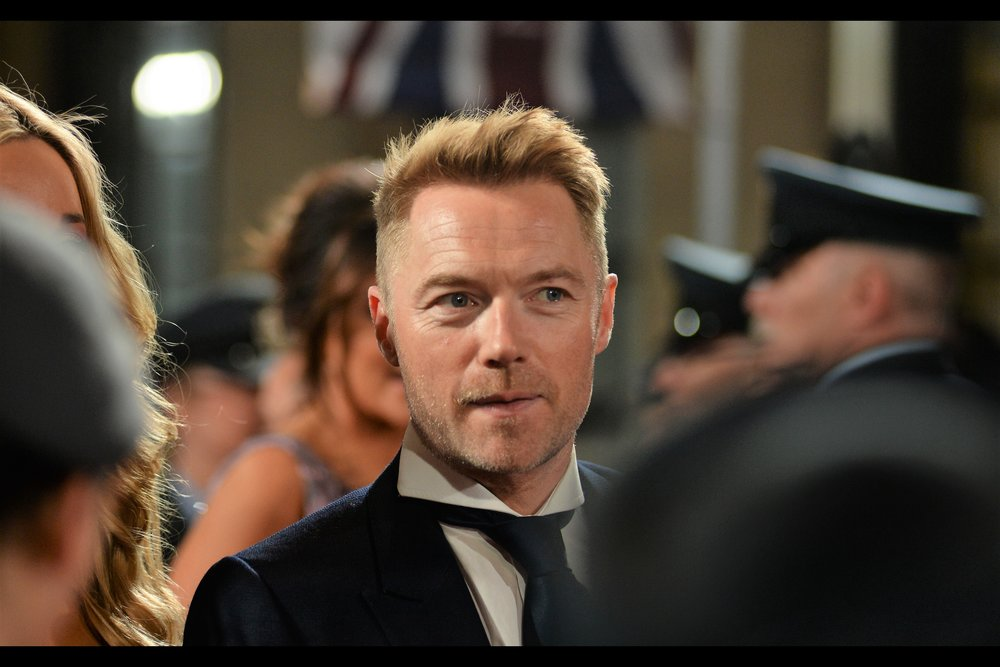 Put down your beers if you've got a drinking game based on my ability to identify British Celebrities, because amazingly I know who this is. He's singer Ronan Keating, no relation to former Australian treasurer/prime minister Paul Keating, I'm guessing.