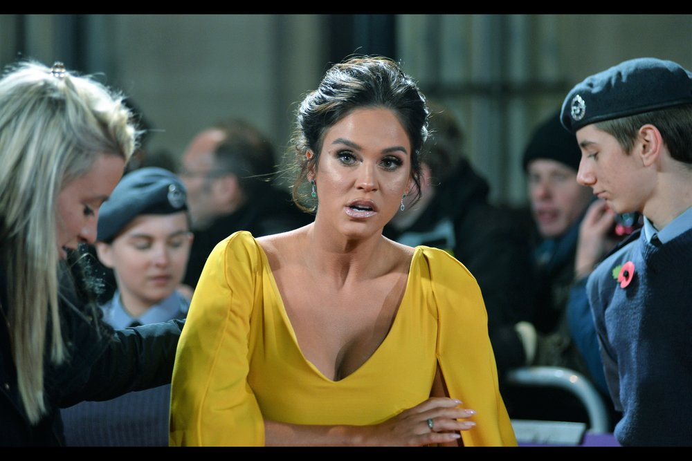 Vicky Pattison wants an explanation, and would prefer it soon-ish. But I'm wearing a beanie and several layers of jacket(s) so I'm willing to ride this out and see whose assistant demands who gets themselves into an auditorium first.