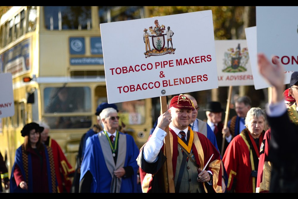 """The Worshipful Company Of Vapers are still deciding on whether their float should smell of fairy floss or salted caramel. They'll be in the parade as soon as they've made up their mind."""