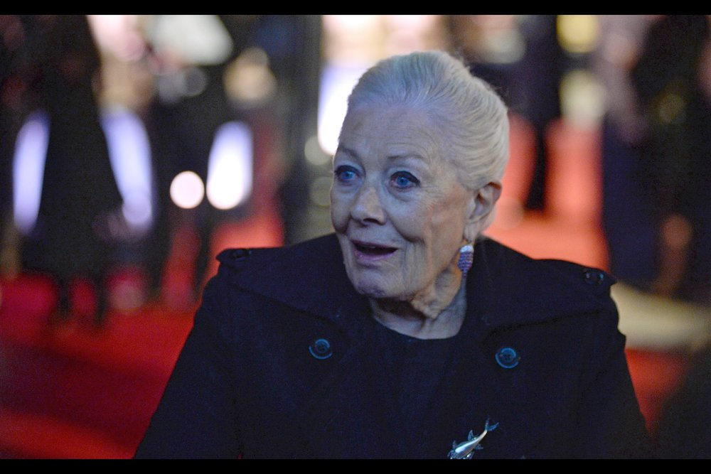"""""""You remember me from that movie? Which one? There've kind of been a lot""""  - Vanessa Redgrave's career stretches back to … the NINETEEN FIFTIES. There's an Oscar there, too."""