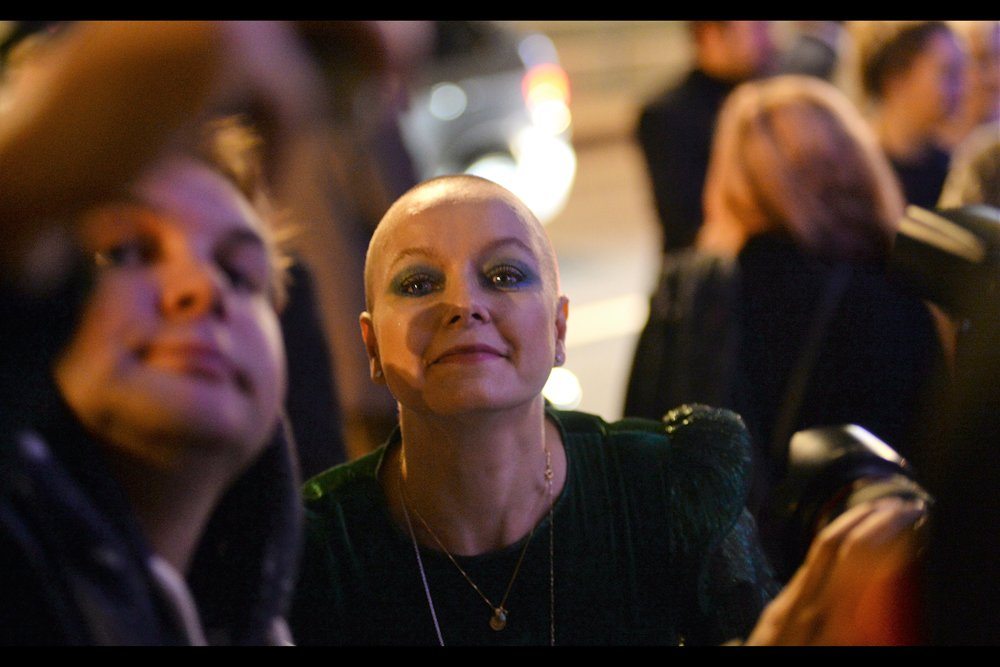 Either the 1200 movies I've watched in the three calendar years since my last BIFA are improving my skillz at identifying people… or maybe it's the hundreds of premieres I've gone to. But still… I know who Samantha Morton is. (I also know who Yorgos Lanthimos is, but he's not in this photo)