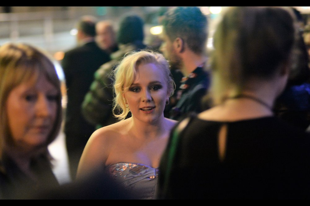 """I last photographed Alexa Davies at the World Premiere of    """"MammaMia! Here We Go Again""""   . Under a self-imposed mandate, it's my objective to eventually watch EVERY movie I've been to the premiere of. MM2 isn't one I feel I need to see anytime soon, though."""