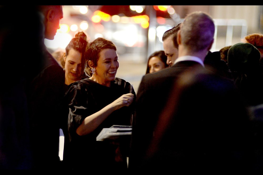 """""""If you're gonna sell my autograph anyway, I insist you pay me for this pen… it's only fair""""  - Olivia Colman is an alumni of no less than two Yorgos Lanthimos movies (   """"The Lobster""""    and    """"The Favourite""""   ) and is set to play Queen Elizabeth II in the third season of 'The Crown')"""