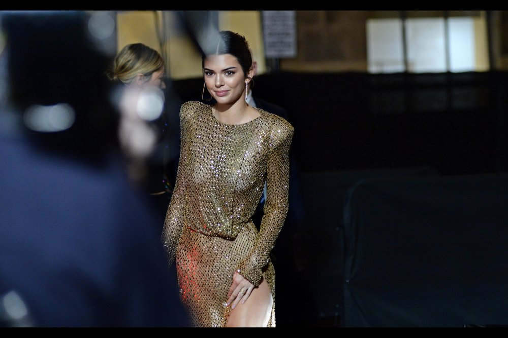 My last photographic event in London in    2018 : the Fashion Awards   , featuring (among others) Kendall Jenner.