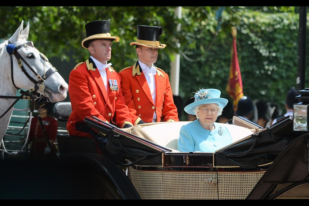 June 9th : It's not a premiere, but it's definitely an Event : London's    TROOPING THE COLOUR 2018