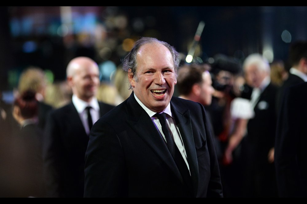 "October 10th : composer Hans Zimmer at the BFI London Film Festival opening    ""Widows""   ."