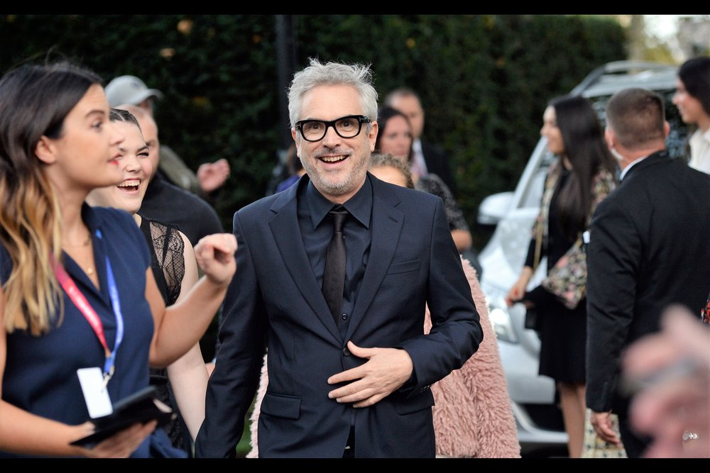"October 13th (I) : Alfonso Cuaron for    ""ROMA""   ."