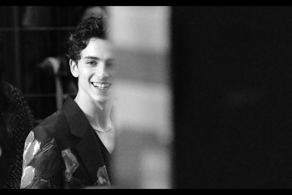 October 13th (II) : Timothee Chalamet from (outside)    'Beautiful Boy'   .