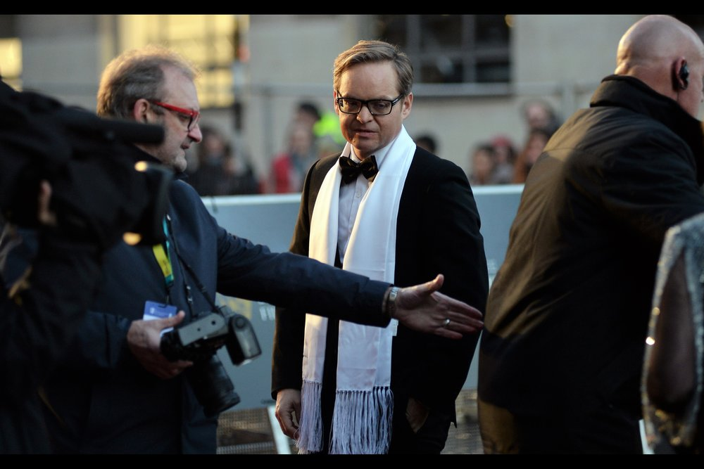 """So you see how without touching him, I've nonetheless demonstrated my complete contempt for him, his jacket and the organisation he works for. That's an awesome scarf you're wearing, by the way… exquisite""  - Jon S Baird is the director of    ""Stan and Ollie""    which had its BFI London Film Festival premiere last October.."