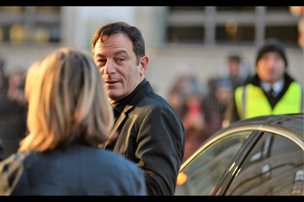 "Some days the blonde lady in the foreground gets you, some days the dude in the distracting high-viz vest in the background gets you. Some days it's both - however I've only just started watching Season 1 of ""Star Trek Discovery"" and Jason Isaacs is in that."