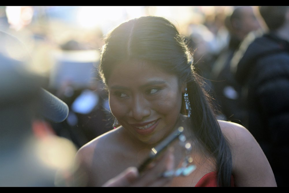 """No, none of the letters have accents or diphthongs or umlauts… but you're probably still going to spell it wrong""  - Yalitza Aparicio is in the Bafta-nominated movie    'Roma' whose BFI LFF Premiere    was last year."