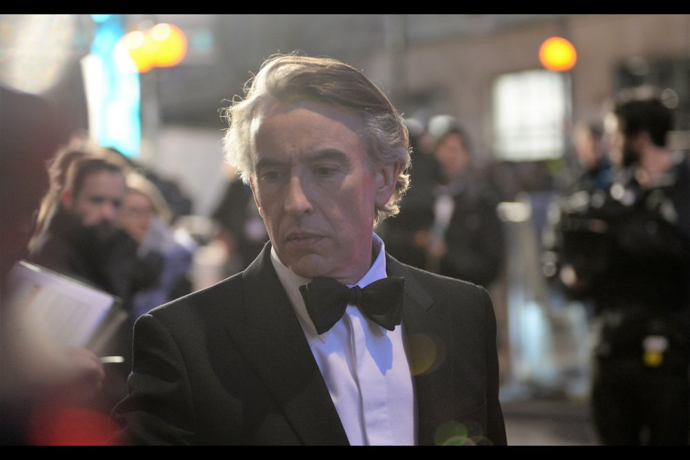 """Well no wonder Richard wouldn't sign - look how you've misspelled the 'E' in Richard E. Grant - I'm surprised he didn't have is personal assistant spit on you all. Still… nice that you're here this evening..""  - Steve Coogan most recently played the role of Stan Laurel in    ""Stan and Ollie""   ."