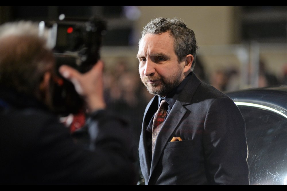 """And you're certain the lens cap should be on? Okay, then….as long as you're committed to making this an intimate portrait by your Method""  - I last photographed Eddie Marsan a week ago at the premiere of    ""The Kid Who Would Be King""   ."