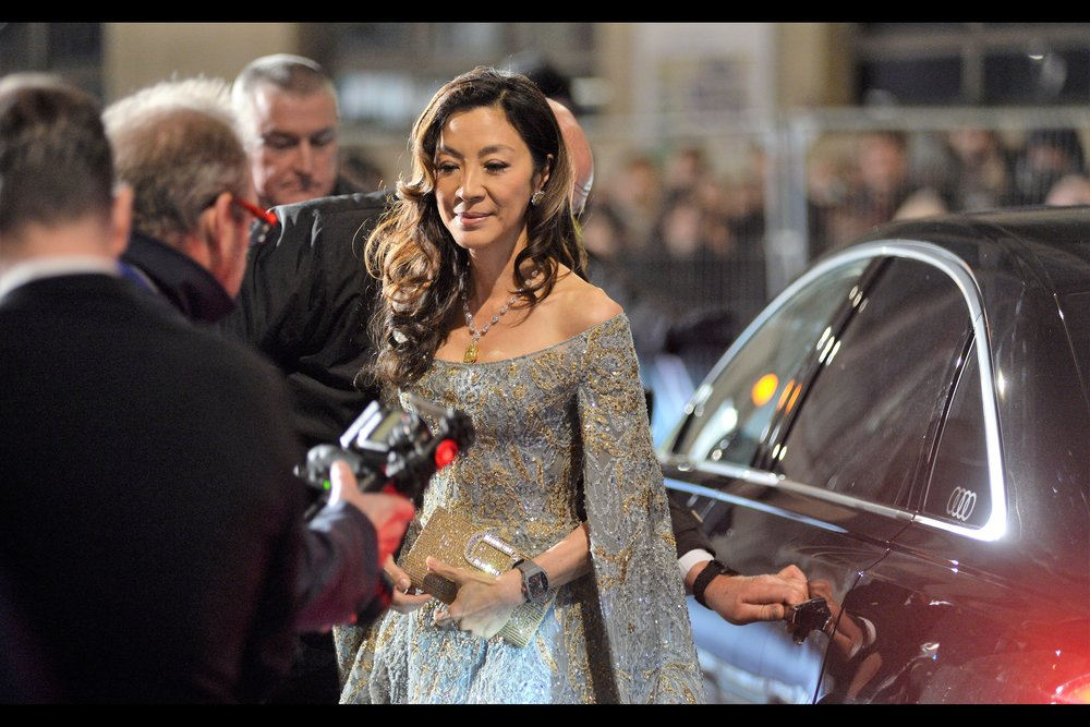 The arguably even MORE cool Michelle Yeoh is also in 'Crazy Rich Asians' but her filmography is massive - I'd never previously photographed her, and if you'd asked me who I'd be most disappointed NOT to photograph had I totally missed this year's Baftas I would have said (1) Her, (2) Spike Lee.