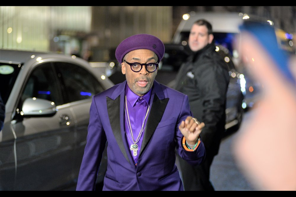 """If youda brort it here… I'da signed it… "" sadly I never did bother to keep my bottle of Absolut Brooklyn Vodka (a Spike Lee Joint) after I didn't get it signed at the 'Blackkklansman' Gala/Screening last year… still, I have now ALSO photographed Spike Lee."
