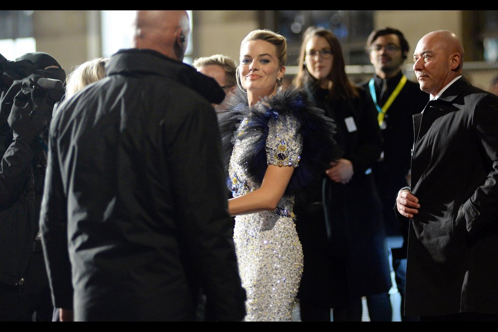 """Keep Stayin' Strayan""  - I will if they let me, Ms Robbie (Australia's Own Margot Robbie was nominated for Best Actress for 'Mary Queen of Scots' - a premiere I declined to attend because    the Fashion Awards    were elsewhere at the same time. And I'm not Scottish.)"