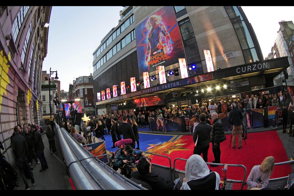 Please allow me to reminisce about the days when Disney/Marvel premieres filled shopping centres (eg.    The Avengers   ) or had full-blown Leicester Square premieres (eg.    Thor The Dark World   ,    Iron Man 3   ), and didn't limit attendances to sub-100 people and hold them in one of London's smallest cinemas.