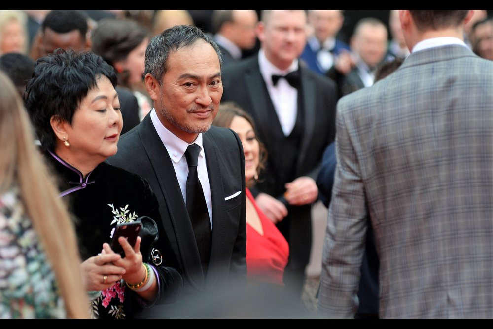 "Ken Watanabe's movie credit's include being in""The Last Samurai"" with Tom Cruise, ""Godzilla (2014)"" and two Christopher Nolan films : he was Ra's Al Ghul in ""Batman Begins"" and he was the guy who hired Leonardo DiCaprio's team in ""Inception"""