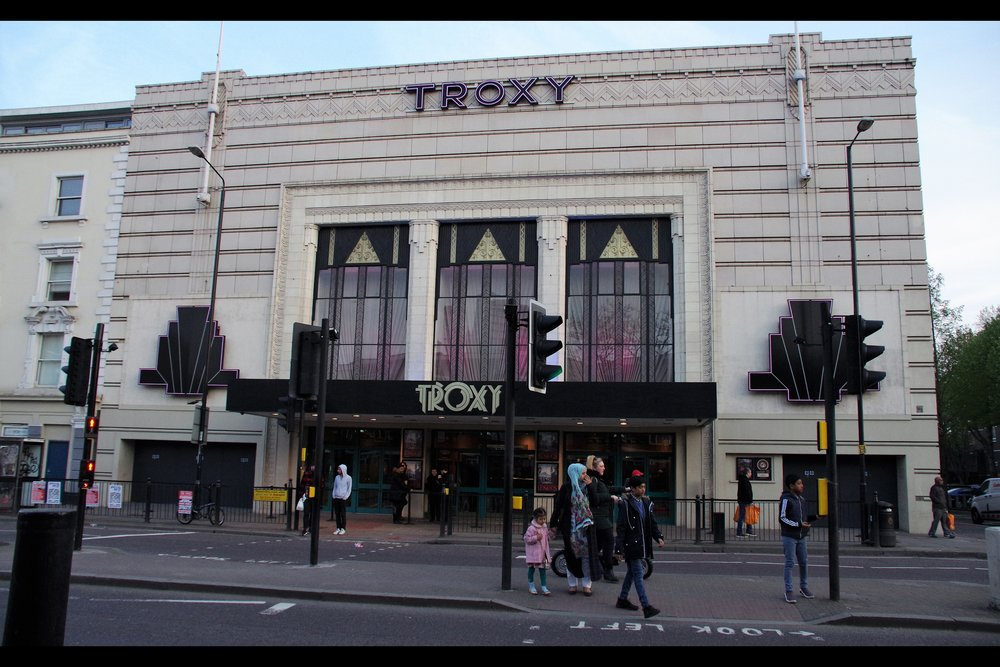 It's the Troxy! And until officially tweeted and told otherwise, it's named after the former Marxist Revolutionary Leon Trotsky, after a tragic spelling mistake and an improper understanding of the Russian Cyrillic alphabet.