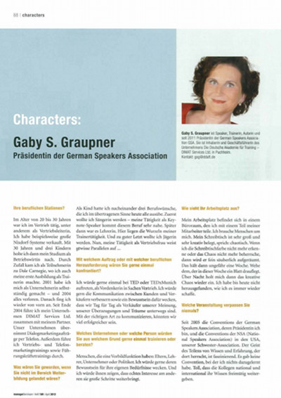 managerSeminare Ausgabe  April 2012