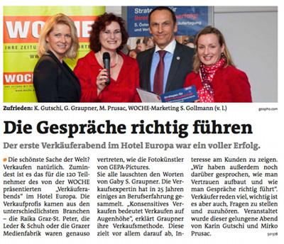 Meine Woche Graz Ausgabe März 2013 - Die Gespräche richtig führen