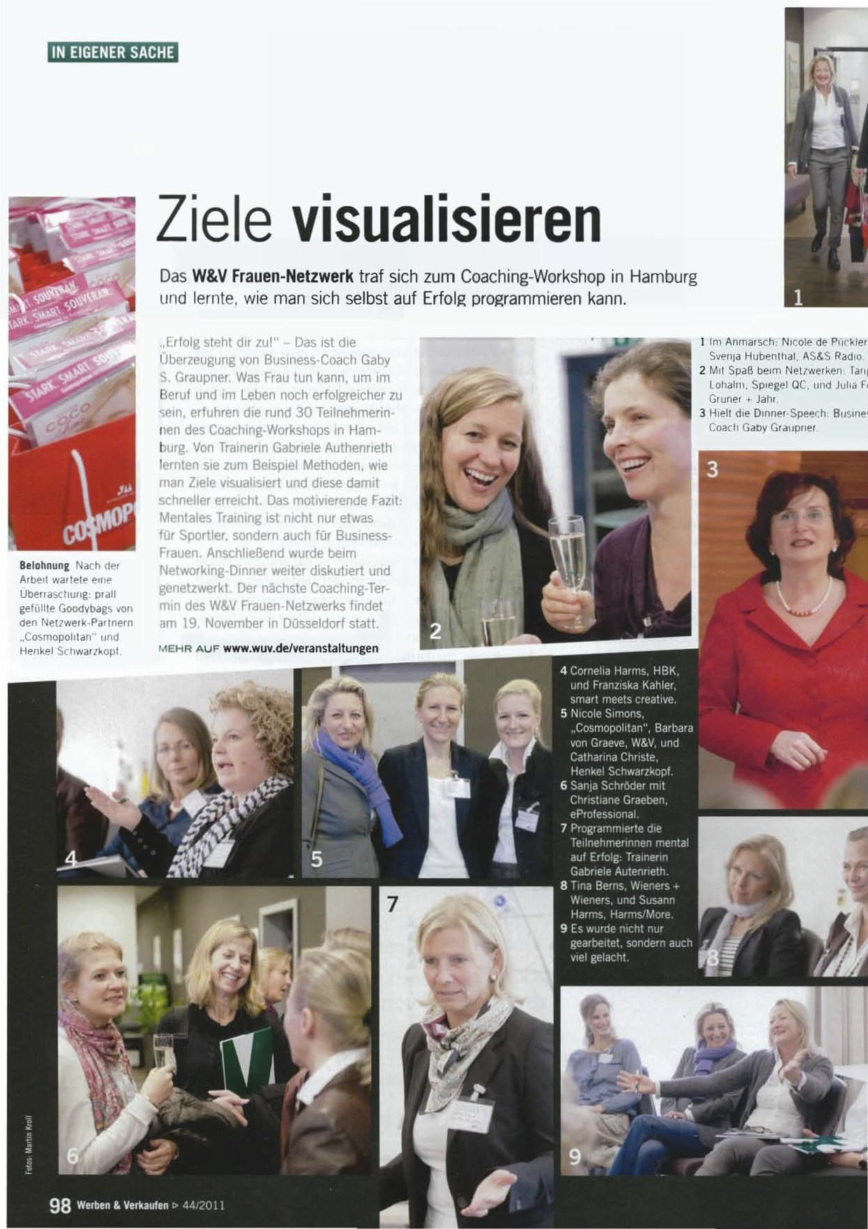 Werben & Verkaufen - Ausgabe 44 2011