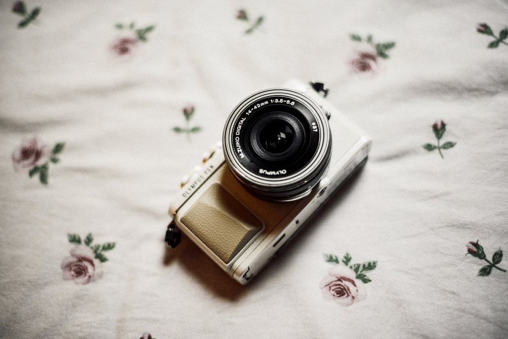 olympus pen generation EPL-7 camera fasion blogger review