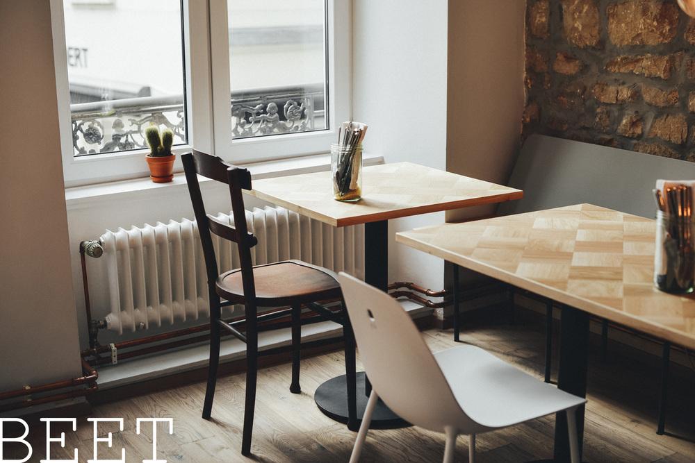 BEET luxembourg vegan food restaurant lunch room city blogger spot best