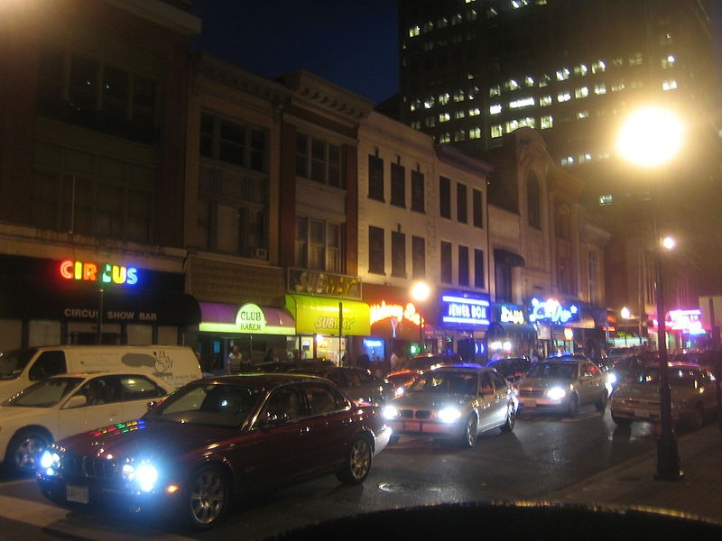 Three strip clubs were reportedly part of the search by Baltimore Police  and the FBI.