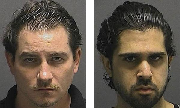 James Michael Warhurst (left), Ali Reza Rohanimanesh (right) Baltimore Police Department