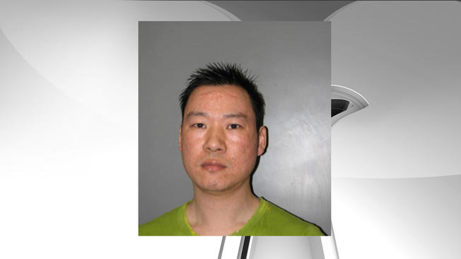 Montgomery County Police released this image of Tin Tuan Lu, who was charged with four counts of human trafficking.