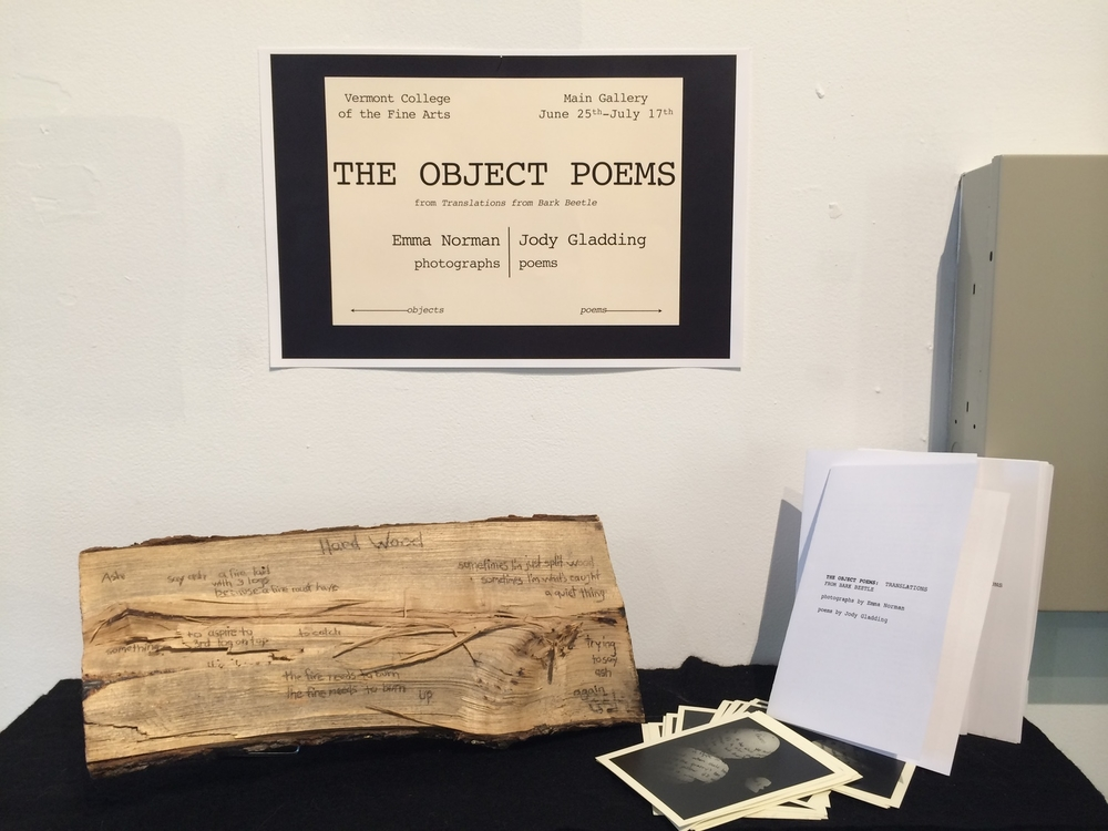 The Object Poems  at Vermont College of the Fine Arts.