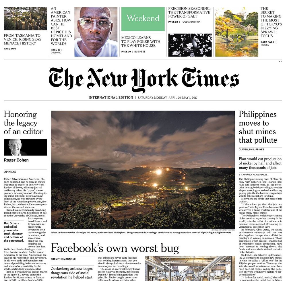 Stories Aurora Almendral Wiring Your Jaw Shut Philippines Moves To Mines Accused Of Polluting The New York Times