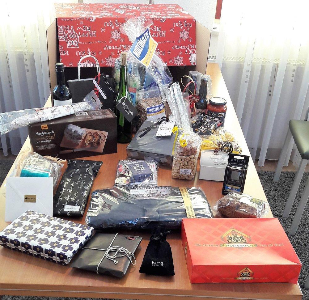 winterpakketten!!!!  De winnaar van de 1e keer 2 minuten shoppen is Lucienne Vennekens uit Milsbeek.