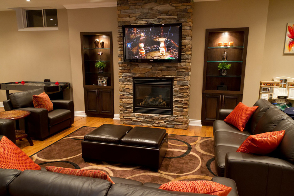 Home Entertainment Design Ideas Cozy Theater