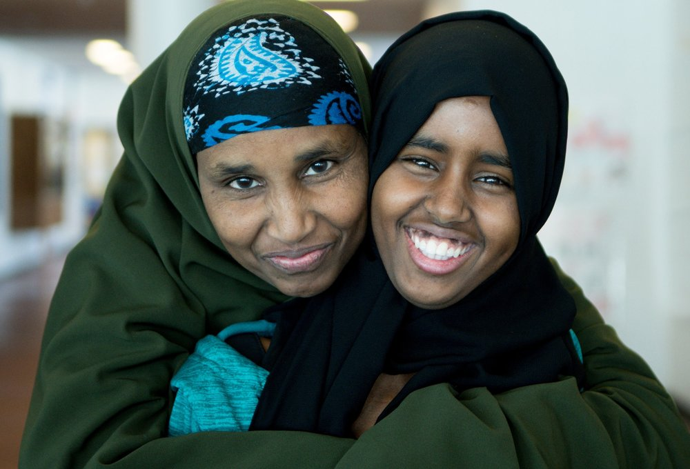 Your support helps JFW transform, inspire and empower women like Barwaqo Ahmed and her daughter, Amina Aden.