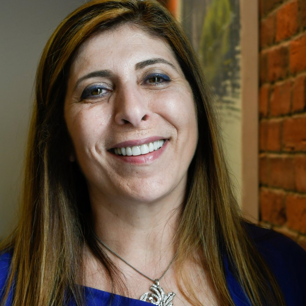Zoe Sahloul,  Exective Director at  NEAAO - New England Arab American Organization