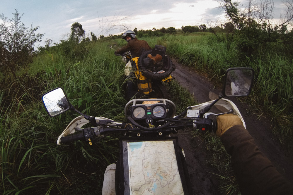The rains start inQueen Elizabeth National Park, Uganda.