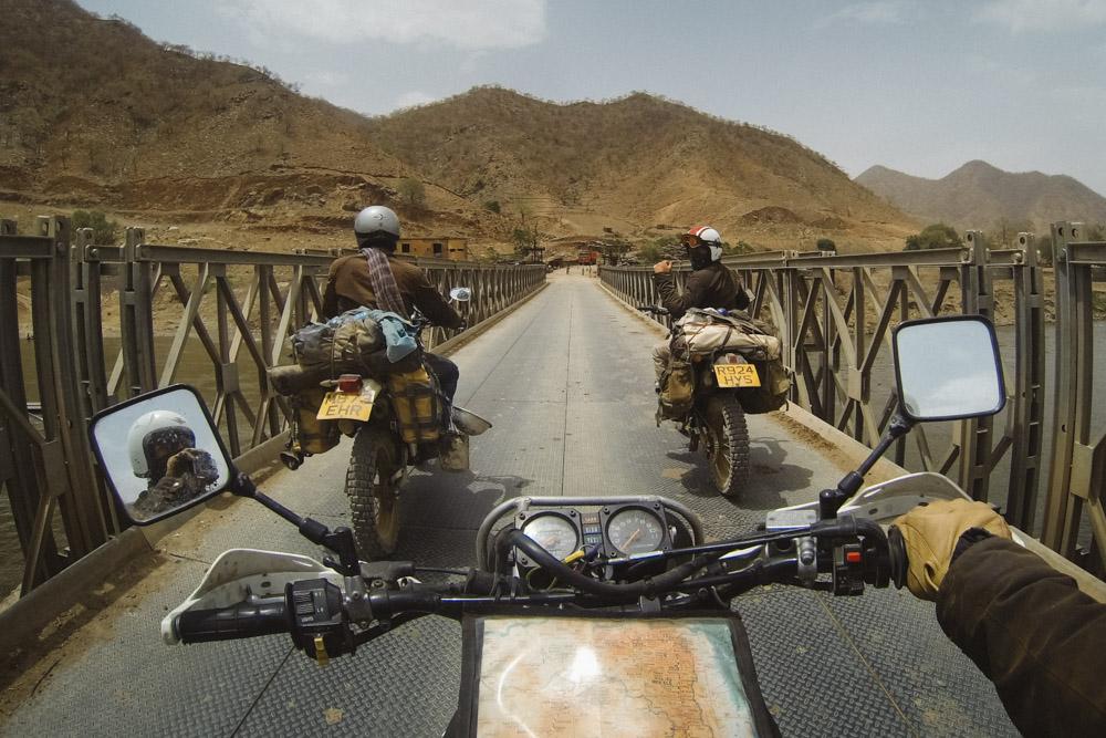 Scottish convoy, Ethiopia.