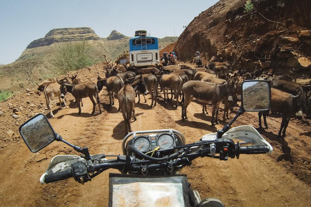Gridlock in the Tigray hillsin NorthernEthiopia.