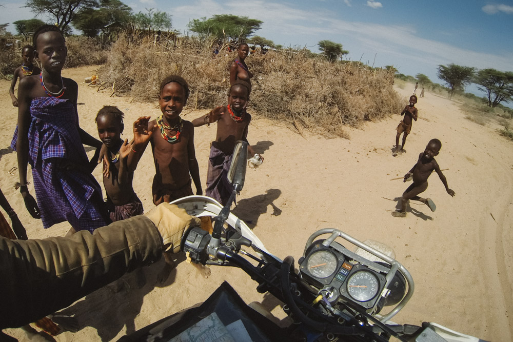 The Turkana people of North West Kenya.