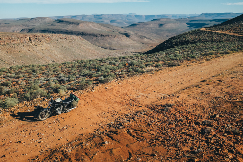 The ride continued east onto the dusty roads of the Tankwa Karoo