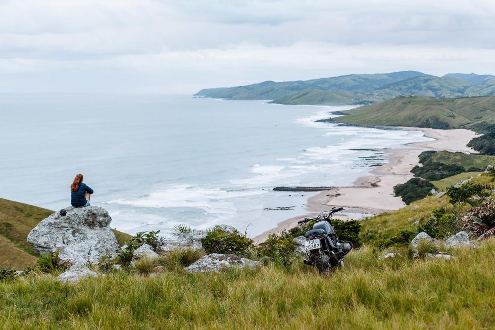 Mbotyi beach.