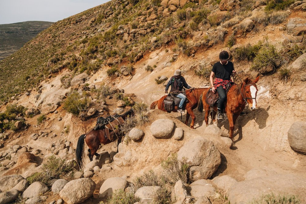The change of transport was justified. With few rests, our horses climbed over mountain pass after mountain pass.