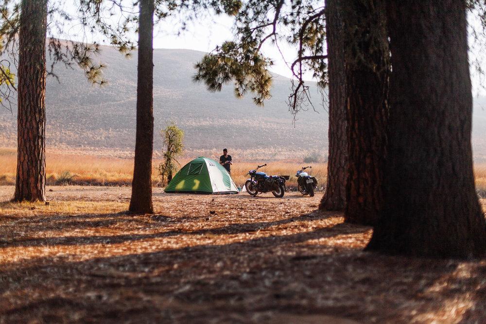Camping in the Drakensberg