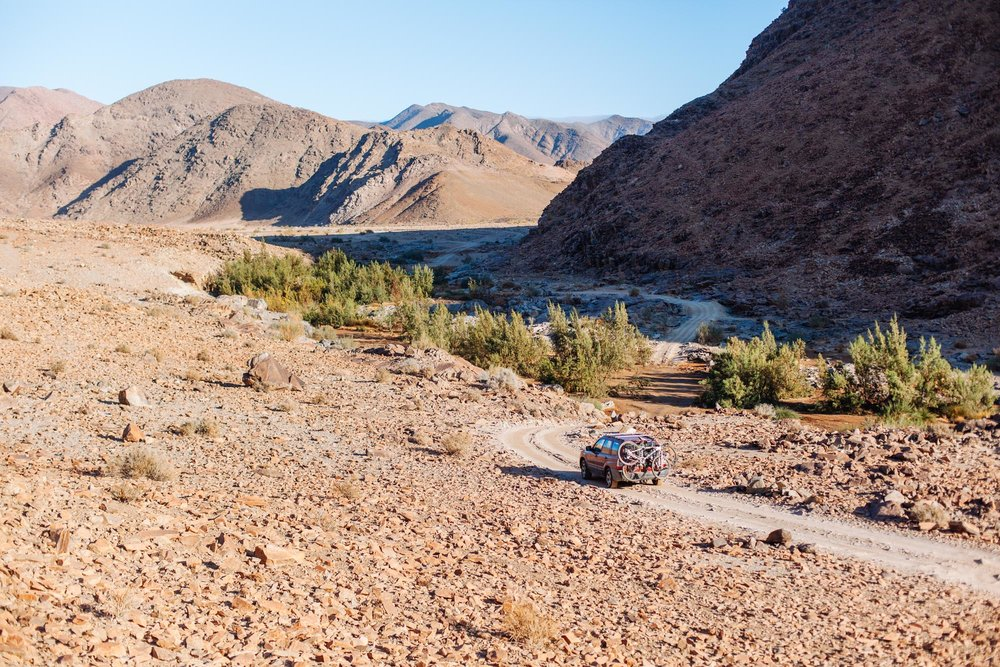 The  Richtersveld Transfrontier Park  straddles the border of South Africa and Namibia. Rugged and beautiful!