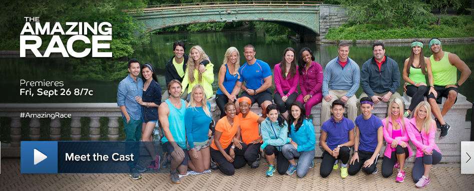 Amazing Race Season 25 Dennis and Isabelle